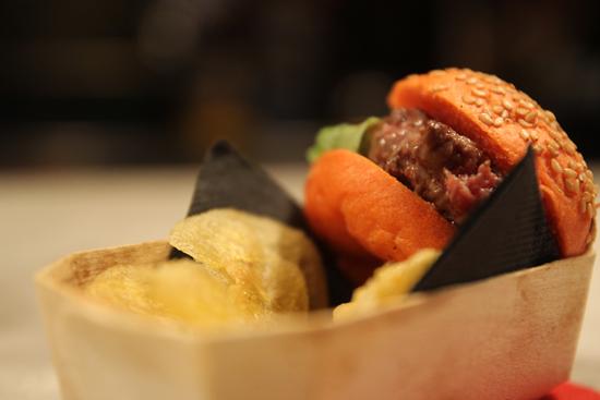 MacKobe, mini hamburguesa de wagyu