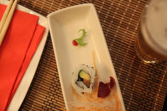 Pintxo-sushi del Robin Banana