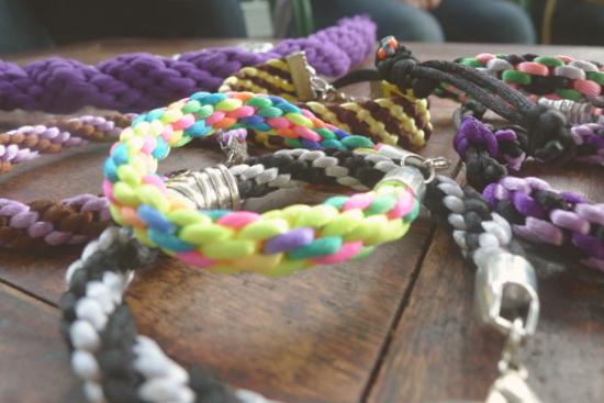 Lo adictivo de las pulseras Kumihimo