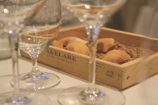 Pan con forma de cerdo de Restaurante Akelarre, Donostia - San Sebastian