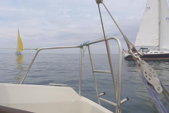 Veleros a la mar