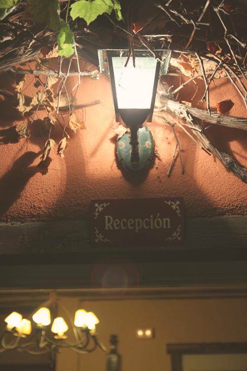 Entrada del Hotel Zubieta en Lekeitio