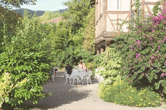 Jardines del Hotel Zubieta en Lekeitio