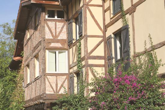 Fachada del Hotel Zubieta en Lekeitio