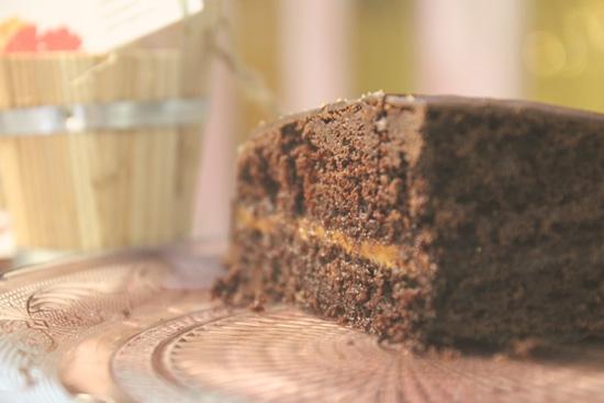 Tarta de chocolate y dulce de leche de la patisserie Meyvi