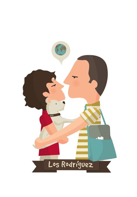 Las ilustraciones personalizadas de Tutticonfetti