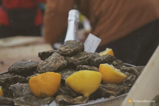 Degustación de ostras J.Prats en Boí Taüll