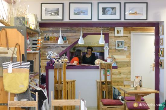 Martxuka, salón de té y artesanía en Urruña