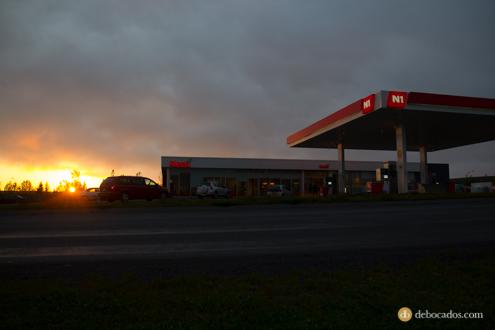 Gasolineras N1 Islandia