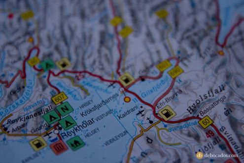 Mapa de carreteras Freytag & Berndt Islandia