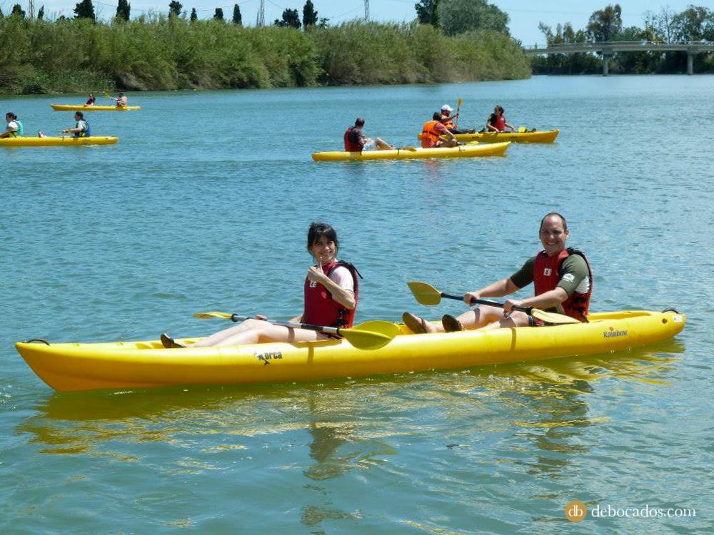 Kayak en Terres de l'Ebre, Tarragona.