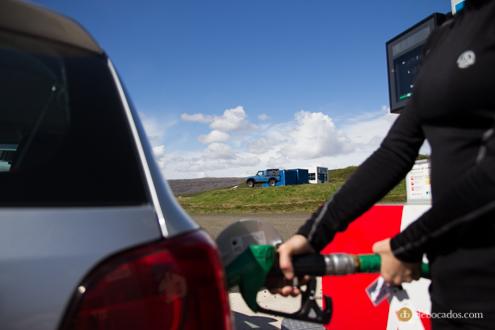 Gasolineras en Islandia