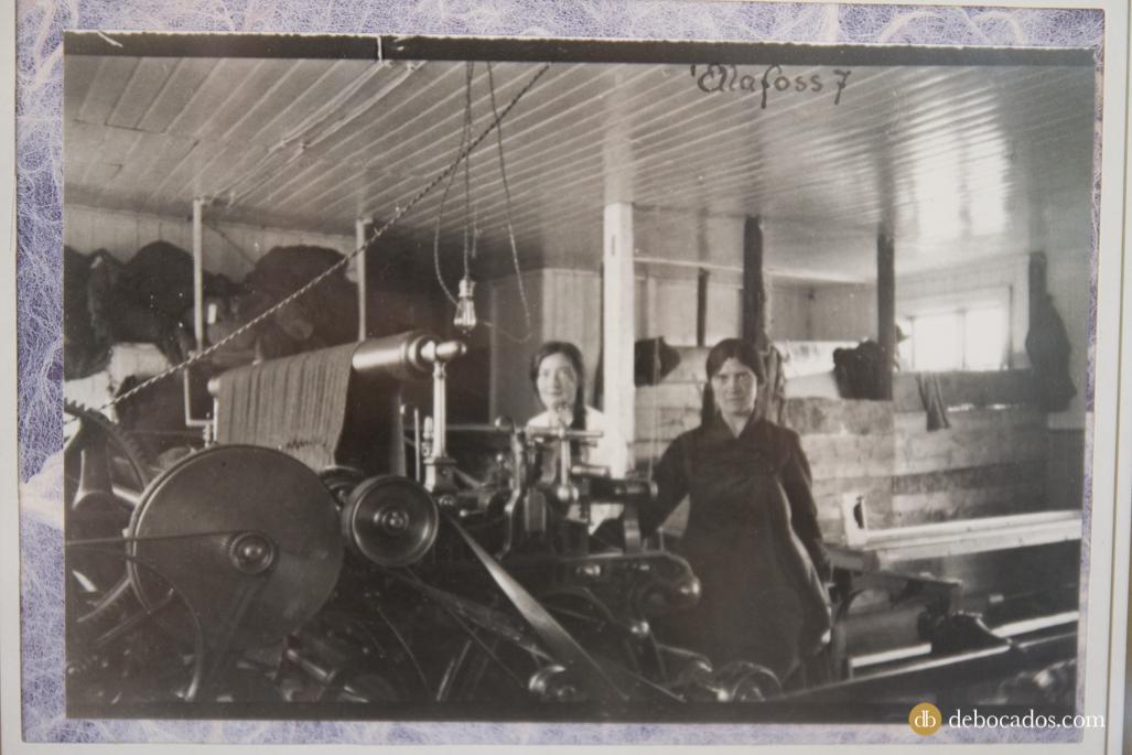Foto de la antigua fábrica de Alafoss en Islandia