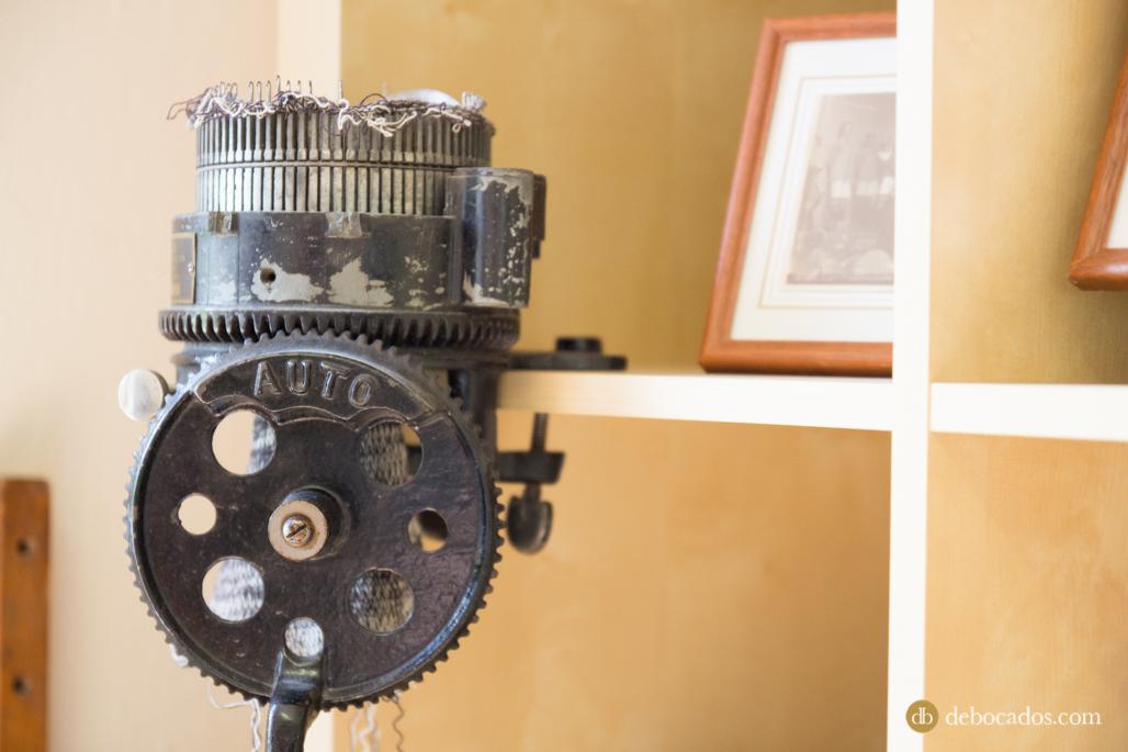 Antigua maquinaria de la fábrica de lanas Álafoss en Islandia