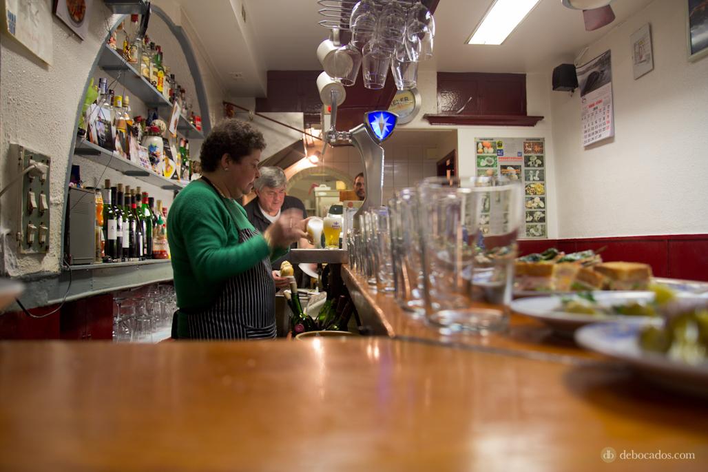El personal del bar Narrika es también mítico.