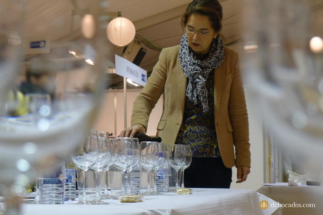 Presentación vinos familia Eguren Ugarte en Ardoaraba