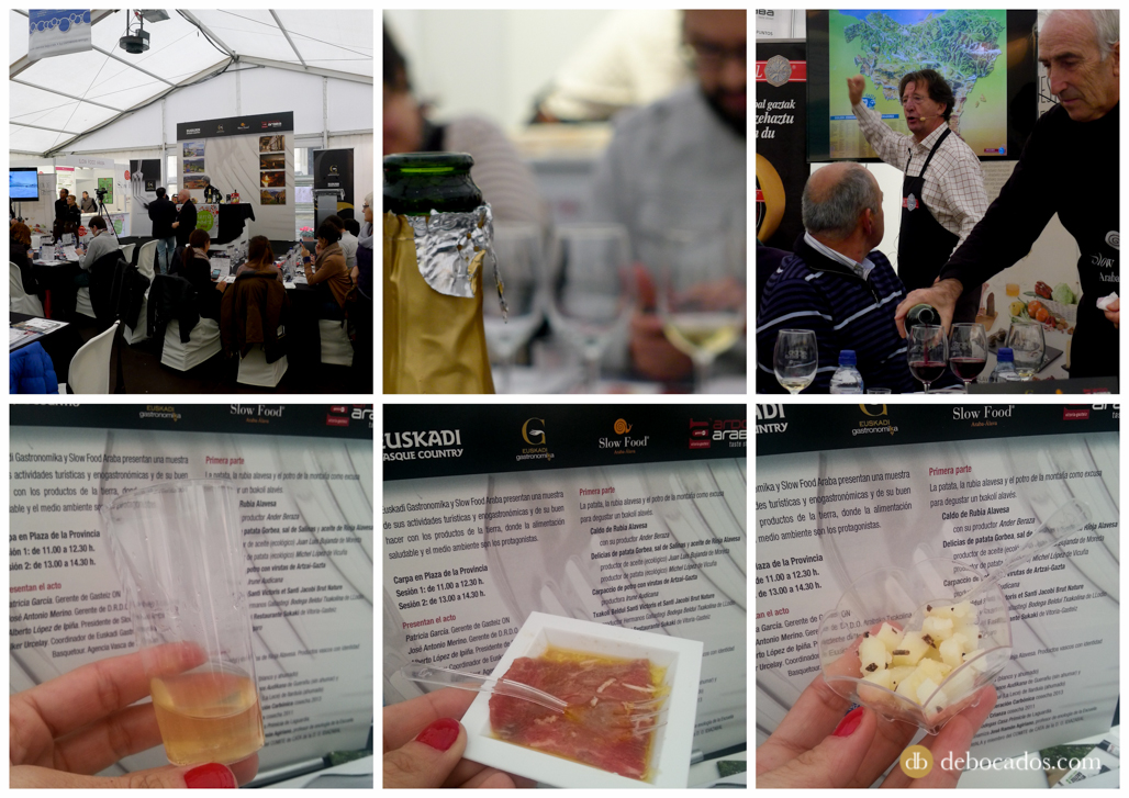 Presentación de Euskadi Gastronomika en Ardoaraba 2014
