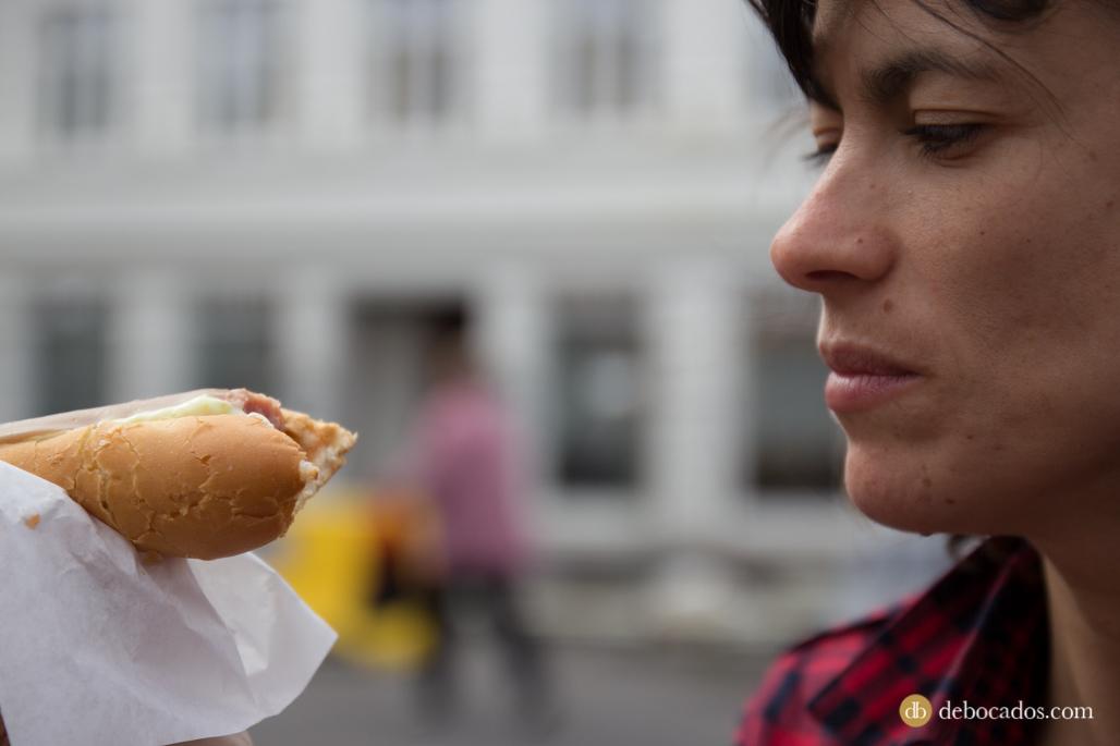 La salchicha más famosa de Islandia se come en Reikiavik
