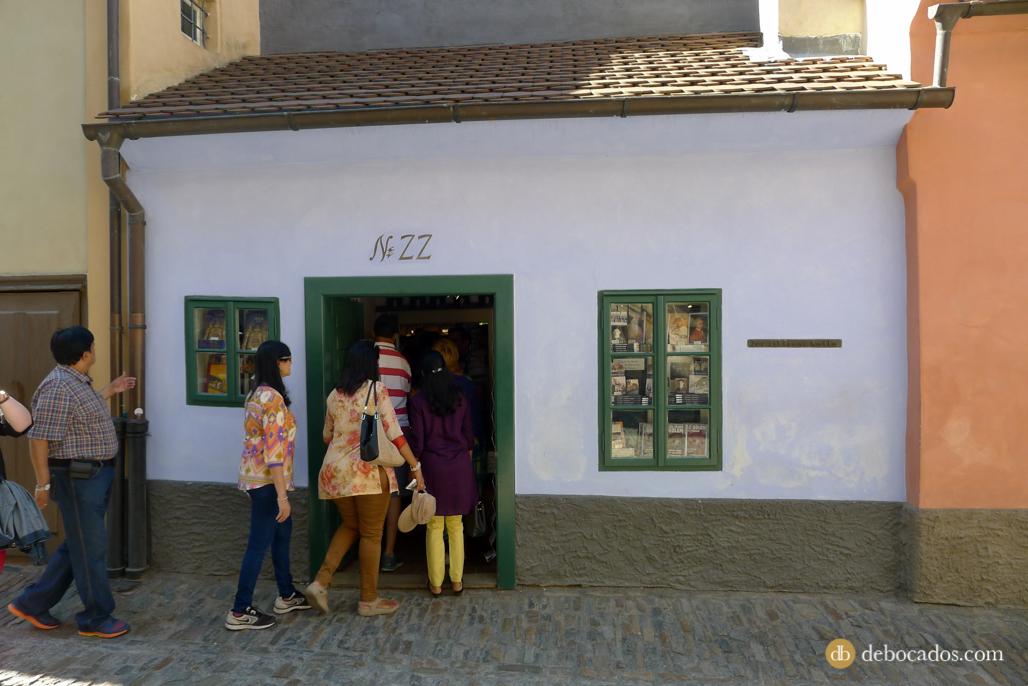 Casa de Franz Kafka en la Callejuela del Oro en Praga