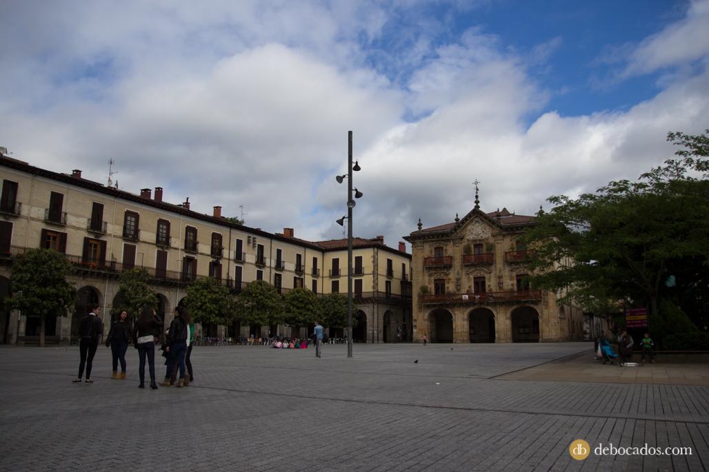 Ayuntamiento y Plaza de los Fueros de Oñati