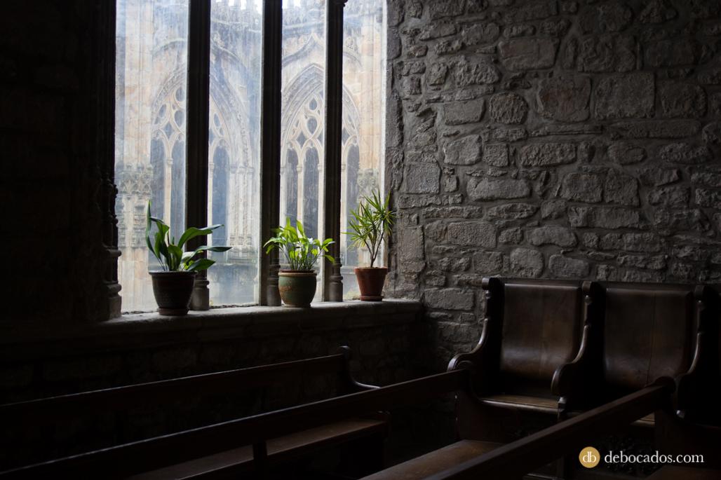 Interior de la Parroquia de San Miguel Arcángel en Oñati