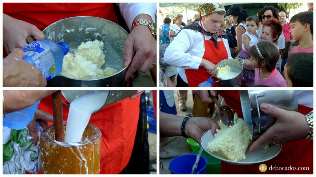 Lavado de la mantequilla de Soria