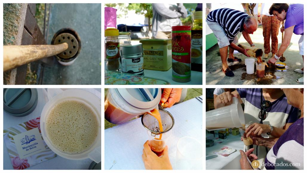 Receta de Té de El Valle con mantequilla de Soria en Valdeavellano deTera