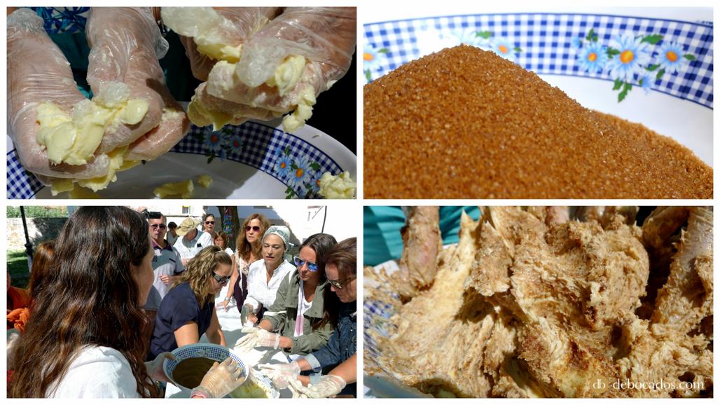 Receta para aromatizar mantequilla dulce de Soria en Valdeavellano de Tera
