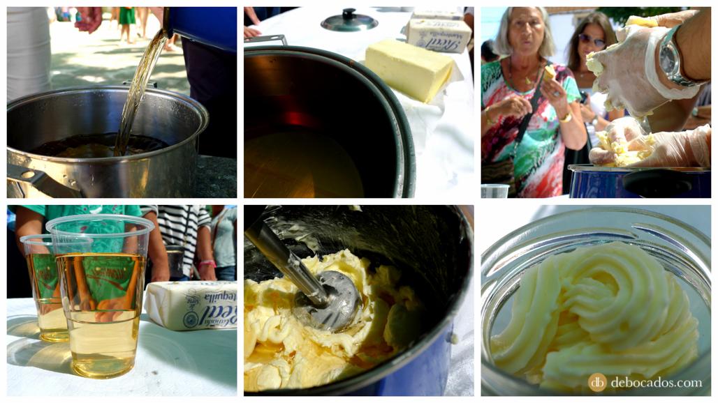 Receta para elaborar mantequilla dulce de Soria en Valdeavellano de Tera