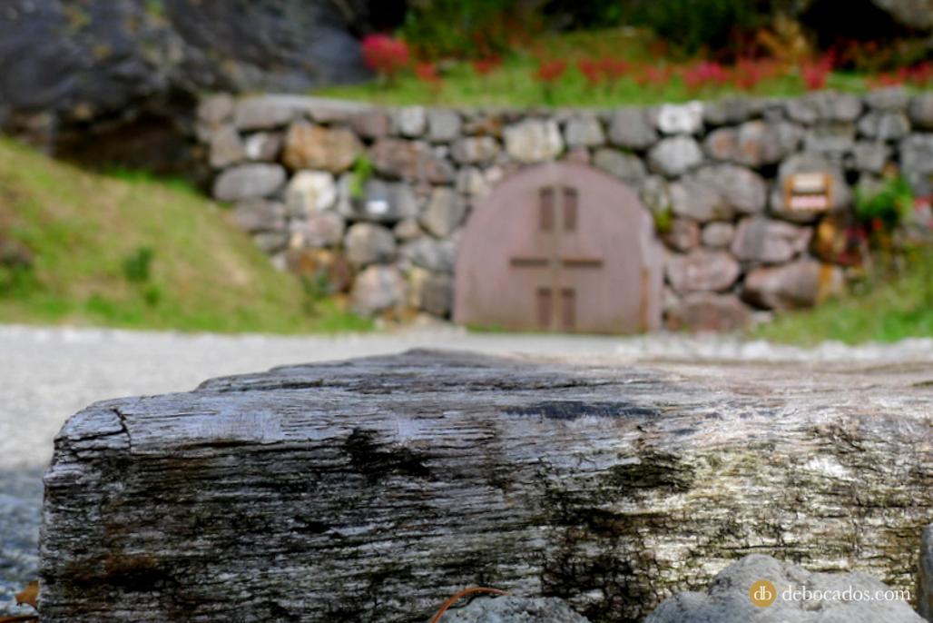 Minas de Arditurri en Oiartzun, en la comarca de Oarsoaldea