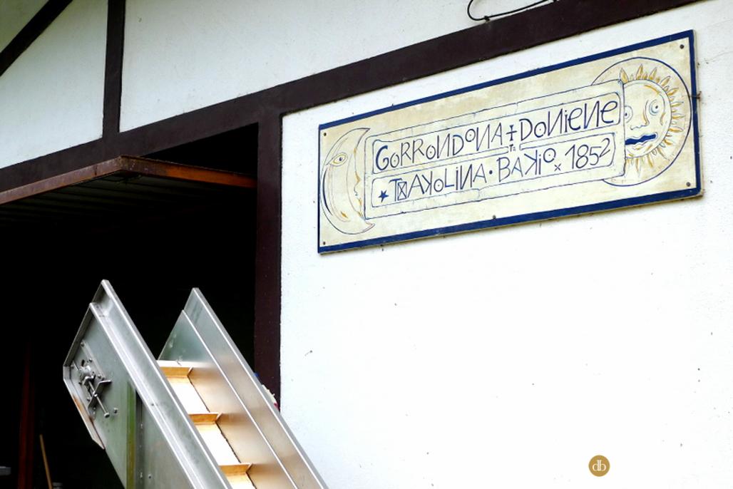 Bodega Gorrondona en Bakio, comarca de Uribe