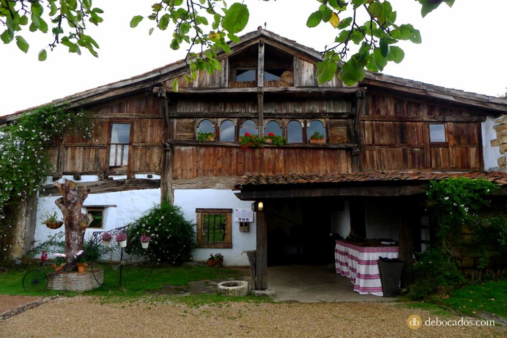 Restaurante Aspaldiko en Loiu, comarca de Uribe
