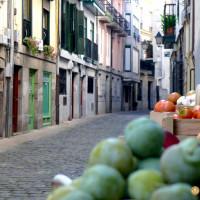 Calles del pueblo de Lekeitio, comarca de Lea-Artibai