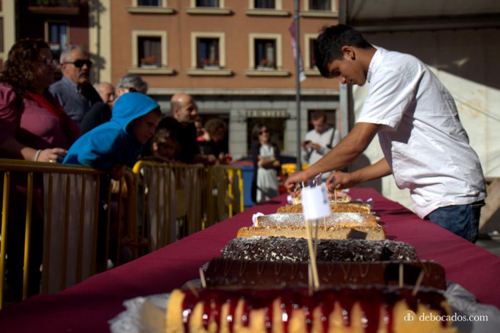 Concurso de brazos de gitano en Tolosa Goxua