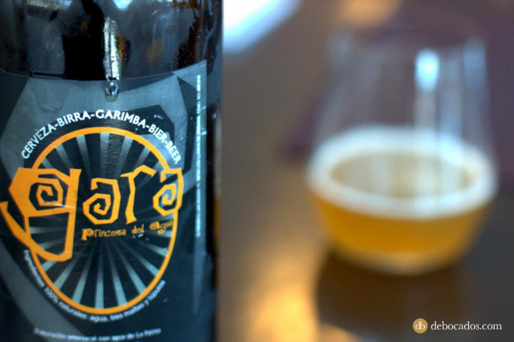 Cerveza artesana Gara, gastronomía La Palma