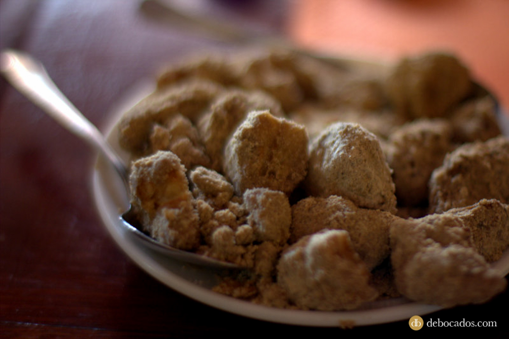 Gofio, gastronomía tradicional de la isla de La Palma