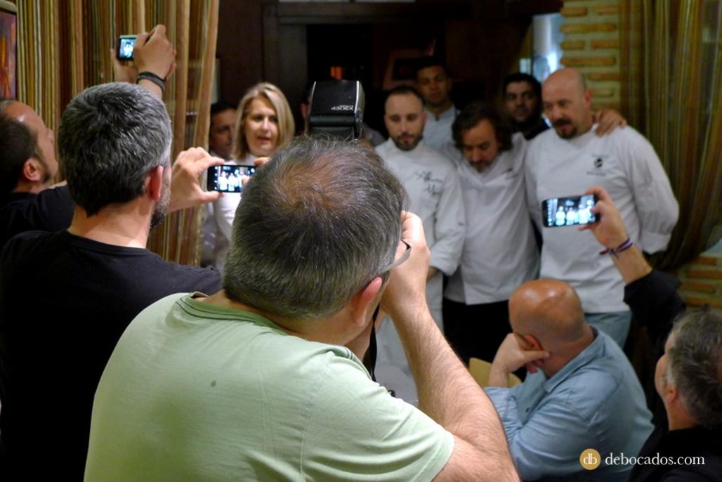 Equipo de cocineros en Restaurante Antxon en Irun